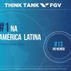 FGV sobe cinco posições e é eleita mais uma vez um dos melhores think tanks do mundo