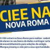 CIEE estará na Nova Roma cadastrando alunos para vagas de estágio